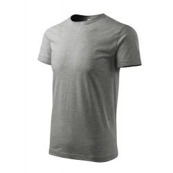 Marškinėliai Heavy New 137 Unisex Dark Gray Melange