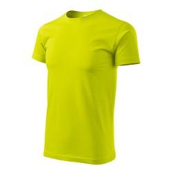 Marškinėliai Heavy New 137 Unisex Lime Punch