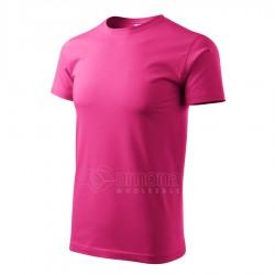 Marškinėliai Heavy New 137 Unisex, Purpuriniai