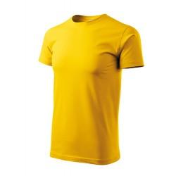 Marškinėliai Heavy New 137 Unisex Yellow