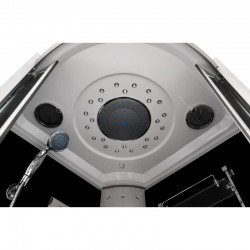 Masažinė dušo kabina AMO-09909C 100x100x220 cm