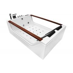 Masažinė vonia AMO-08012 180x120cm dvivietė