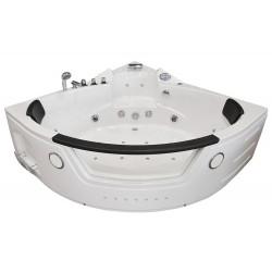 Masažinė vonia AMO-10632 White 157x157 cm.