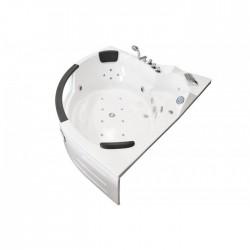 Masažinė vonia AMO-10632 White Top 157x157 cm.