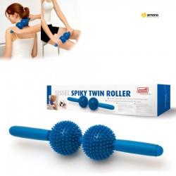 Masažuoklis SISSEL Spiky Twin Roller