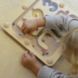 ''Masterkidz'' magnetinis labirintas su skaičiais