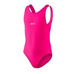 Maudymosi kostiumėlis mergaitėms BECO BASIC rožinis