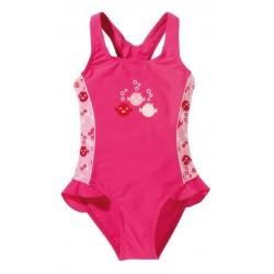 Maudymosi kostiumėlis mergaitėms BECO UV SEALIFE rožinis
