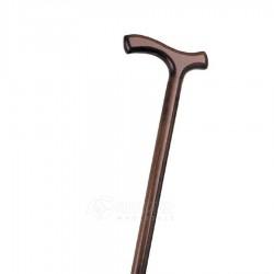 Medinė lazdelė tiesia rankena