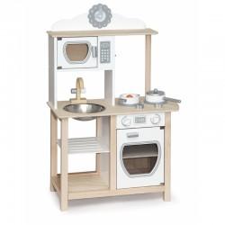 Medinė Virtuvė Viga Toys Su Aksesuarais