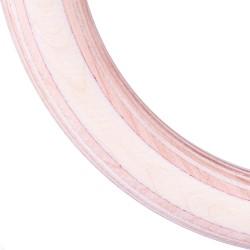 Mediniai gimnastikos žiedai su diržais inSPORTline CF927 23mm