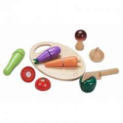 Medinis Daržovių Pjovimo Rinkinys CLASSIC WORLD