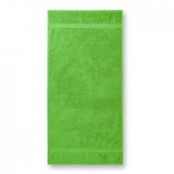 Medvilninis Rankšluostis Voniai Malfini Apple Green 70x140cm.