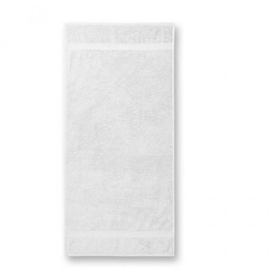 Medvilninis Rankšluostis Voniai Malfini White 70x140cm.