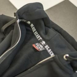 Megztinis BLACK HEART Hot Rod Bell Zip