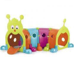 Modulinė Žaidimų Tunelis Feber Su Caterpillar Žaidimų Aikštele