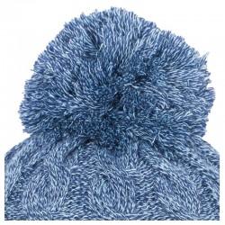 Moteriška Žieminė Kepurė 4F H4Z18 CAD013 Tamsiai Mėlyna