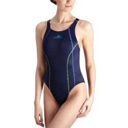 Moteriškas plaukimo kostiumas AQUAFEEL 21232 mėlynas