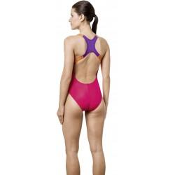 Moteriškas Plaukimo kostiumas AQUAFEEL AQUALINE 21716 rožinė / violetinė