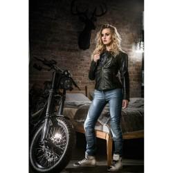 Moteriški Kevlar moto džinsai su apsaugomis City Nomad Karen Iron