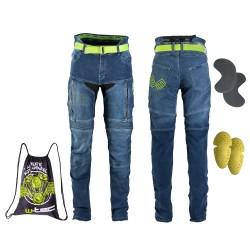 Moteriški Kevlar moto džinsai su apsaugomis W-TEC Ekscita