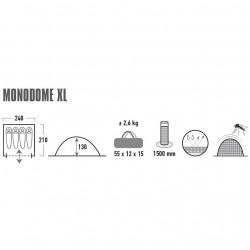 Palapinė High Peak Monodome 4 10311