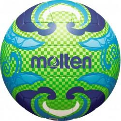 Paplūdimio tinklinio kamuolys MOLTEN V5B1502 žalia/mėlyna