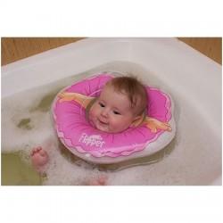 Plaukimo ratas kūdikiams ant kaklo 3D Balerina