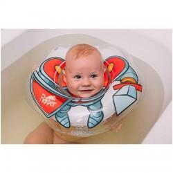 Plaukimo ratas kūdikiams ant kaklo 3D Riteris