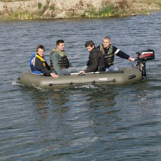 Pripučiama Valtis SPORTEX Nautilus 300 SLT Žalia