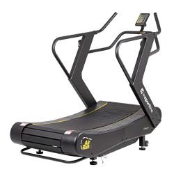 Profesionalus bėgimo / ėjimo mechaninis takelis inSPORTline Air-Run (iki 180kg)