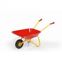Raudono metalo vežimėlis vaikams Rolly Toys