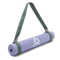 Reebok yoga and fitness carry mat strap green