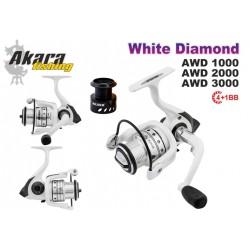Ritė AKARA White Diamond 2000 4+1BB