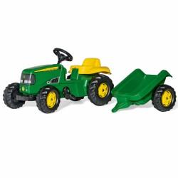 Rolly Toys Minamas Traktorius John Deere su priekaba 2-5 metų