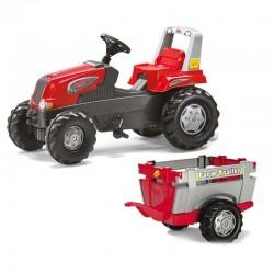 Rolly Toys Minamas Traktorius su Priekaba Junior 3-8 m. iki 50kg
