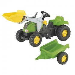 Rolly Toys pedalinis traktorius su kaušu ir priekaba 2-5 metai iki 30 kg