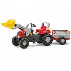 Rolly Toys Pedalinis Traktorius su Priekaba ir Kaušu