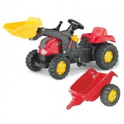 Rolly Toys rollyKid Pedalinis Traktorius su Kaušu ir Priekaba 2–5 metai
