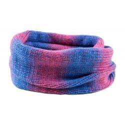 Šalikas OUTHORN HOZ18 SZD606, Mėlyna-Violetinė