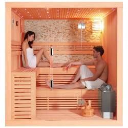 Sauna sausa AMUE-1102 keturvietė 220x200 cm.