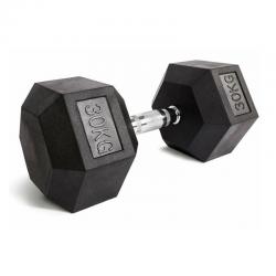 Šešiakampis hantelis Platinum Fitness Beltor 30kg