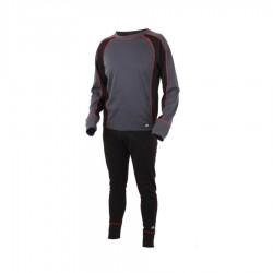 Šilti Apatiniai Eiger Active Underwear Set XL Juodi