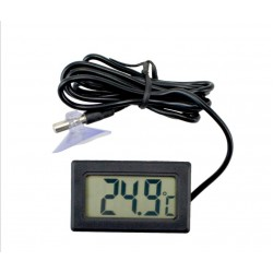 Skaitmeninis LCD Nešiojamas Termometras