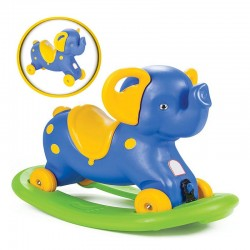 "Supamoji Kėdė ""Little Elephant Rocking 2in1 Blue"""
