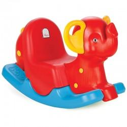 Sūpuoklė WOOPIE Rocker Elephant Rocking Red