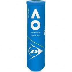 Teniso kamuoliukai Dunlop Australian Open 4 vnt
