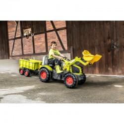 "Traktorius ""CLAAS X-Trac Premium"" ""Quiet Wheels"" ""Rolly Toys"" su pedalais"