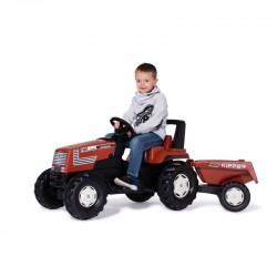Traktorius ''Rolly Toys '' su pedalais ir priekaba