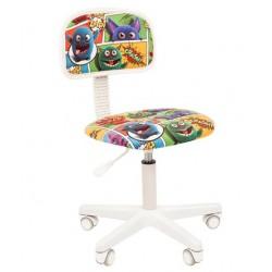 Vaikų kambario kėdė CHAIRMAN KIDS 101 Balta - Su monstrais